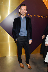MATTHEW WILLIAMSON at a party to celebrate the launch of the Monica Vinader London Flagship store at 71-72 Duke of York Square, London SW3 on 4th December 2014.