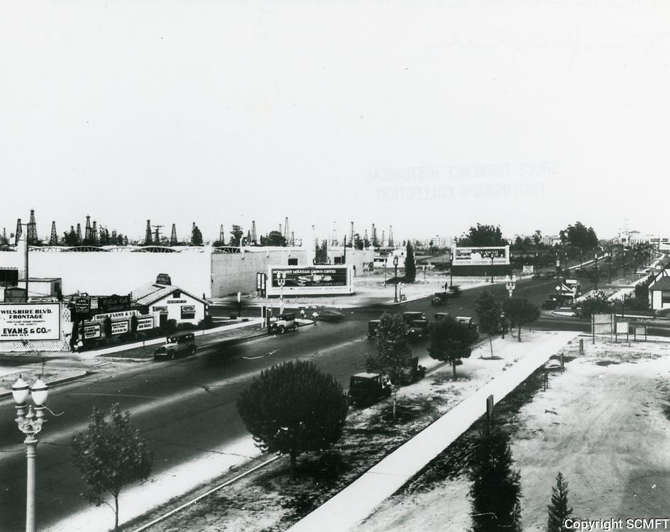 1923 Wilshire Blvd. looking east towards Fairfax Ave.