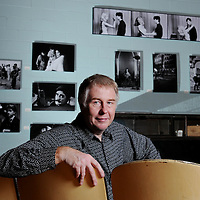 """Filmmaker Peter Braatz produced a documentary titled """"No Frank in Lumberton"""" about the making of """"Blue Velvet."""" Braatz had been invited by director David Lynch to come to Wilmington to document the filming process.  Braatz also took nearly 1,000 black-and-white images of the filming. Photo by Mike Spencer"""