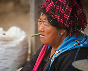 Lady and her cheroot,