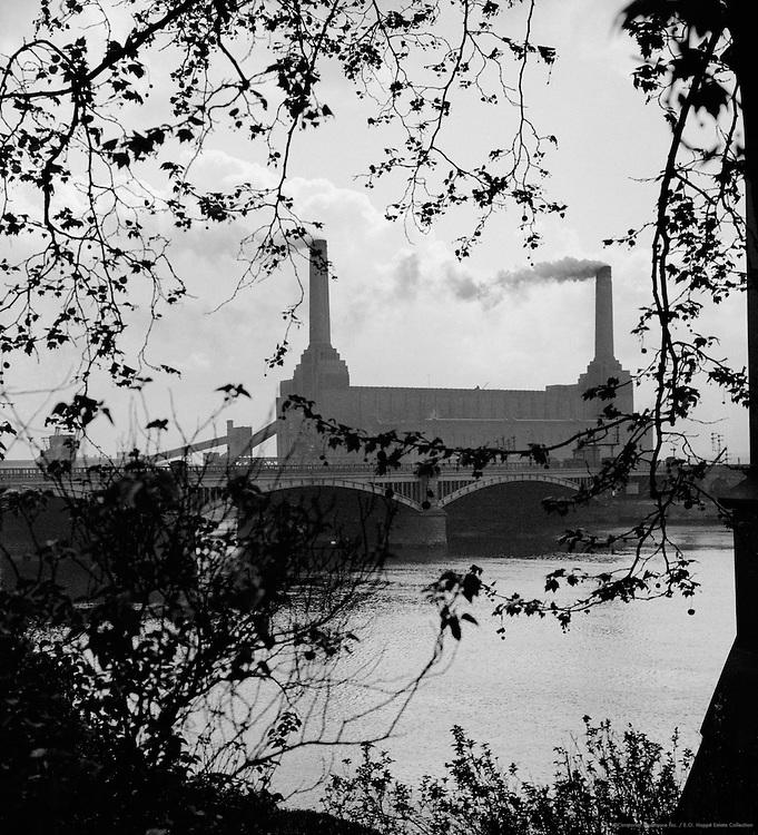 Battersea Power Station, London, England, 1934