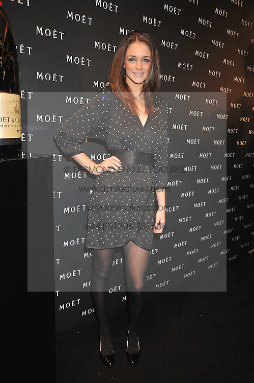 VIOLET BUDD at the Moet & Chandon Tribute to Cinema party held at the Big Sky Studios, Brewery Road, London N7 on 24th March 2009.