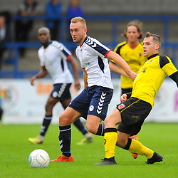 TELFORD COPYRIGHT MIKE SHERIDAN 13/10/2018 - Jon Royle of AFC Telford during the Vanarama National League North fixture between AFC Telford United and Chorley