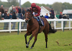 Legends of War ridden by Oisin Murphy go on to win The British Stallion Studs EBF Novice Stakes at Yarmouth Racecourse.
