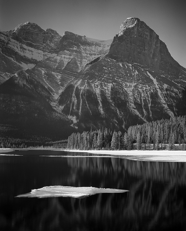 Ha Ling Peak and Ice, Canmore, AB