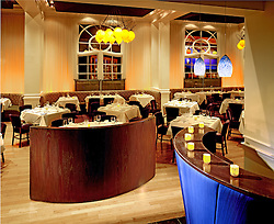 Azure restaurant at the Lenox Hotel in Boston Massachusetts