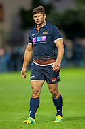 Ross Ford of Edinburgh Rugby during the Rugby Friendly match between Edinburgh Rugby and Bath Rugby at Meggetland Sports Complex, Edinburgh, Scotland on 17 August 2018.
