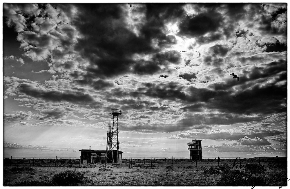 Small buildings at Dungeness