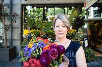 Portrait of Naomi Pomeroy, owner of Beast in Portland, Oregon