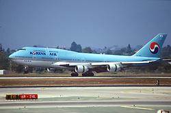 Korean Airliner Taking Off