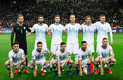 Team Slovenia during football match between National teams of Slovenia and North Macedonia in Group G of UEFA Euro 2020 qualifications, on March 24, 2019 in SRC Stozice, Ljubljana, Slovenia. Photo by Vid Ponikvar / Sportida
