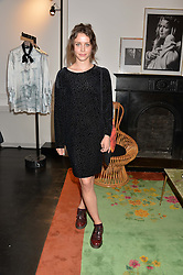 BILLIE JD PORTER at the launch of the new Marina Rinaldi flagship store at 5 Albemarle Street, London on 3rd July 2014.