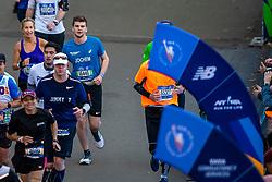 04-11-2018 USA: 2018 TCS NYC Marathon, New York<br /> Race day  TCS New York City Marathon / Jochem