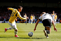 Adam Le Fondre of Bolton Wanderers and Nathan Smith of Port Vale  - Mandatory by-line: Matt McNulty/JMP - 22/04/2017 - FOOTBALL - Vale Park - Stoke-on-Trent, England - Port Vale v Bolton Wanderers - Sky Bet League One