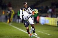 Benjamin Angoua - 01.02.2015 - Bordeaux / Guingamp - 23eme journee de Ligue 1 -<br />Photo : Manuel Blondeau / Icon Sport
