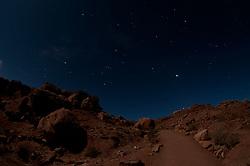 Desert Under Stars, Arches National Park, Utah, US