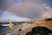 Rainbow, Hookipa Beach, Maui, Hawaii