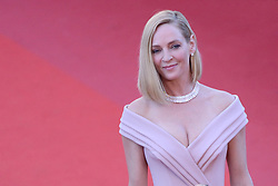 Uma Thurman arriving at Les Fantomes d'Ismael screening and opening ceremony held at the Palais Des Festivals in Cannes, France on May 17, 2017, as part of the 70th Cannes Film Festival. Photo by Aurore Marechal/ABACAPRESS.COM