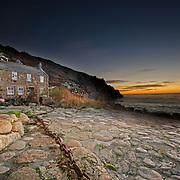 Old Fishermans Cottage in before the Sunrise.