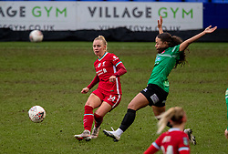 BIRKENHEAD, ENGLAND - Sunday, March 14, 2021: Liverpool's Ashley Hodson during the FA Women's Championship game between Liverpool FC Women and Coventry United Ladies FC at Prenton Park. Liverpool won 5-0. (Pic by David Rawcliffe/Propaganda)