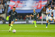 Manchester City forward Gabriel Jesus (33) during the The FA Cup semi-final match between Manchester City and Brighton and Hove Albion at Wembley Stadium, London, England on 6 April 2019.