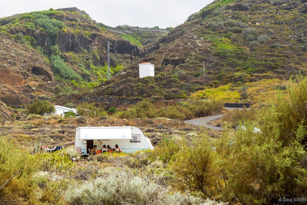 Piscinas Naturales de La Fajana, La Palma, Canarias, España, Europa
