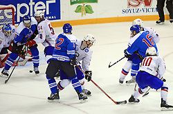 Ice-hockey match Norway vs Finland at Preliminary Round (group C) of IIHF WC 2008 in Halifax, on May 05, 2008 in Metro Center, Halifax, Nova Scotia, Canada. (Photo by Vid Ponikvar / Sportal Images)