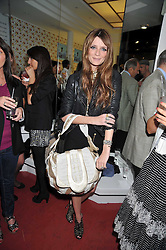 MISCHA BARTON at a party to launch the new Belvedere Black Raspberry Maceration held at the Belvedere Black Raspberry Pop-up Store, 100 Mount Street, London W1 on 6th May 2009.