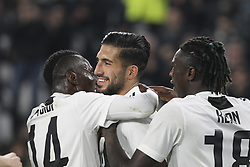 March 8, 2019 - Turin, Piedmont, Italy - Emre Can (Juventus FC)  celebrates after scoring during the Serie A football match between Juventus FC and Udinese Calcio at Allianz Stadium on March 08, 2019 in Turin, Italy..Juventus won 4-1 over Udinese. (Credit Image: © Massimiliano Ferraro/NurPhoto via ZUMA Press)