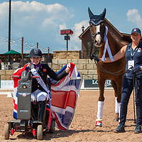 Wednesday 19 September -Daily Image Library -Team GBR - World Equestrian Games 2018 - Tryon, NC
