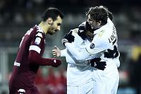 esultanza gol Carlos Bacca Milan Goal celebration 2-2 <br /> Torino 16-01-2017 Stadio Olimpico Grande Torino Football Calcio Serie A  2016/2017 Torino - Milan foto Image Sport/Insidefoto