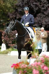 Rath Matthias Alexander, (GER), Totilas<br /> CDIO Hagen 2015<br /> © Hippo Foto - Stefan Lafrentz<br /> 10/07/15