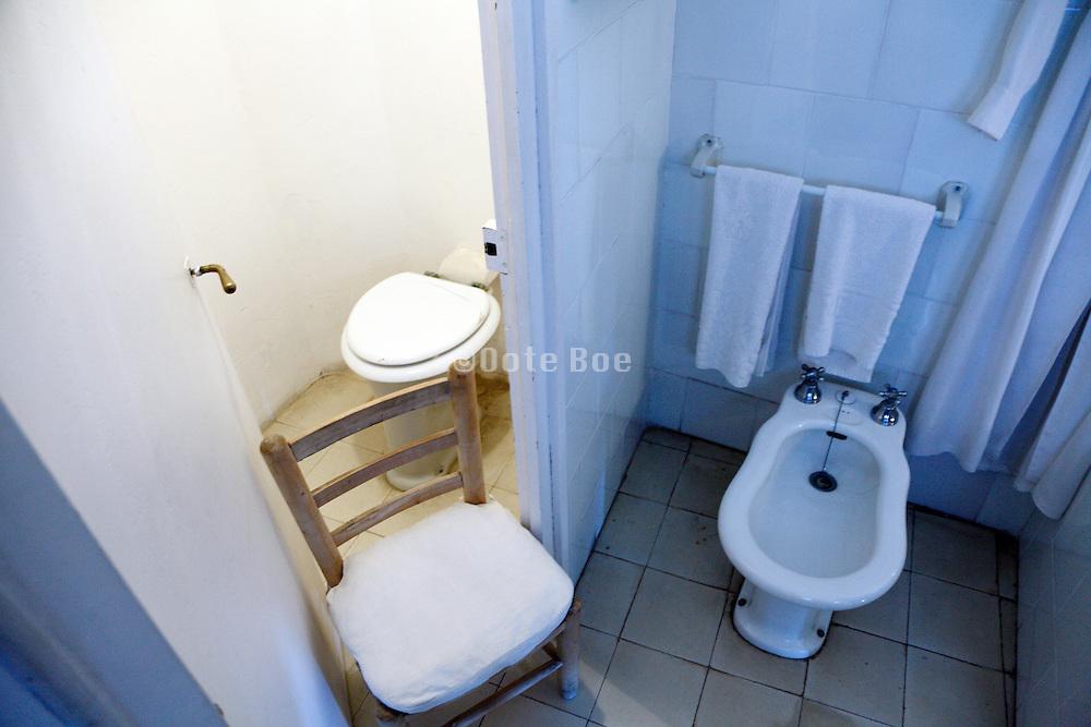 toilet and bidet at the Salvador Dali Museum Portlllgat Spain