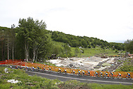 Landscape and peloton during the 101th Tour of Italy, Giro d'Italia 2018, stage 10, Penne - Gualdo Tadino 239 km on May 15, 2018 in Italy - Photo Luca Bettini / BettiniPhoto / ProSportsImages / DPPI