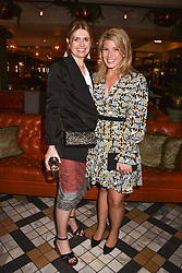 Left to right, Jenny Packham and Natasha Archer at The Ivy Chelsea Garden Summer Party, Kings Road, London, England. 14 May 2018.