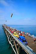 Classic Car Show On The San Clemente Pier