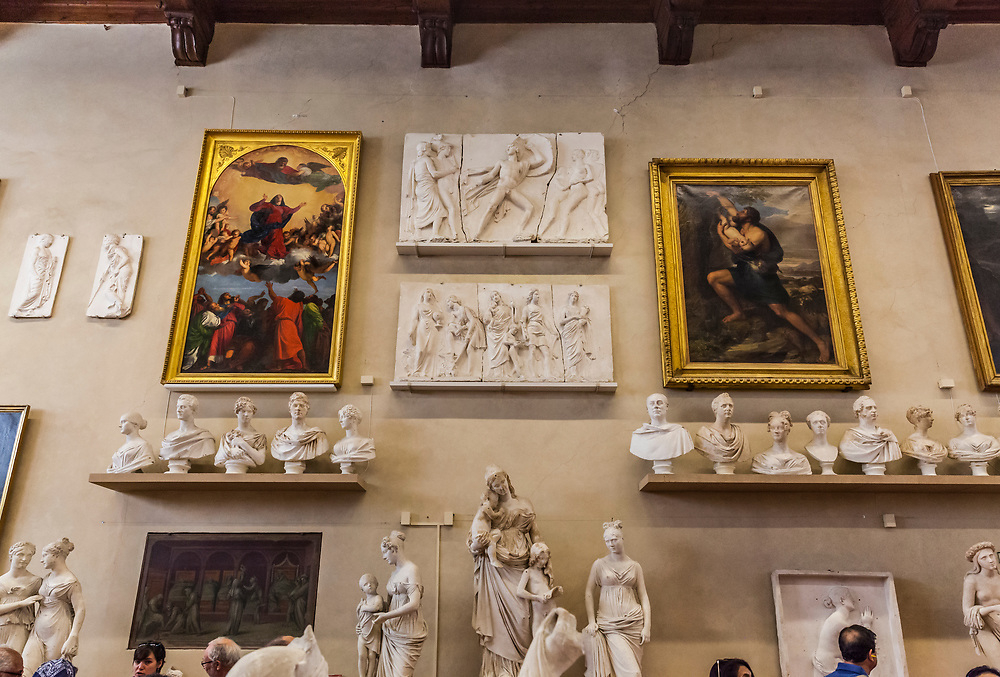 Gallery of the Academy of Florence, Italy