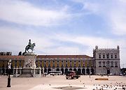 Equestrian statue of King Joseph I of Portugal, Praça do Comércio, Lisbon, Portugal