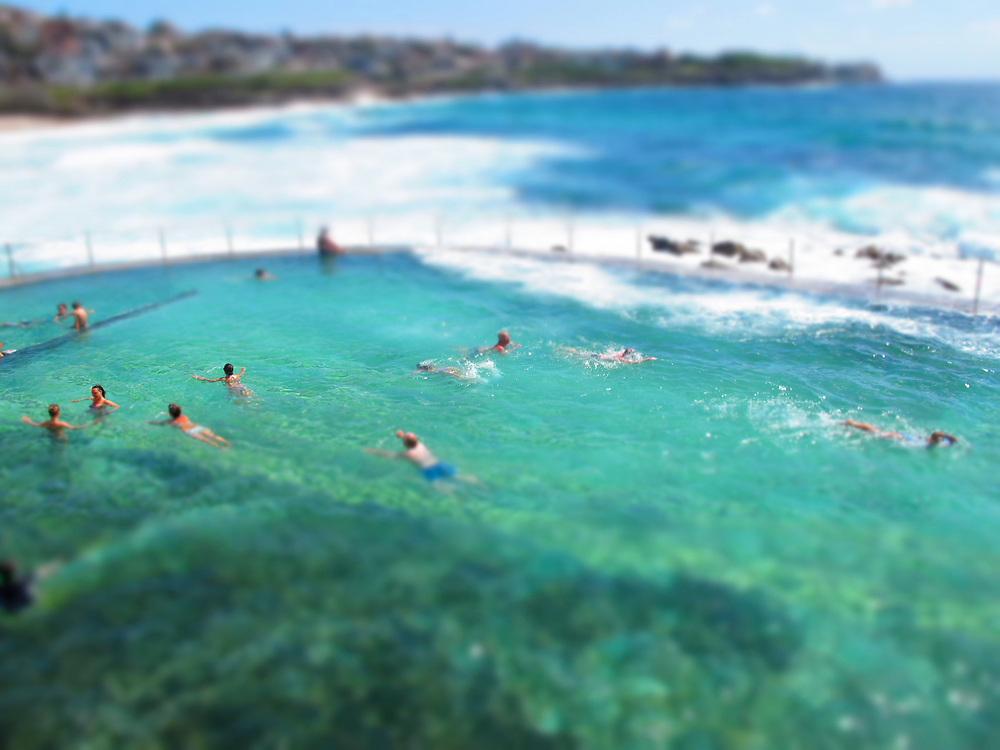 Wylie's Baths is an ocean sea pool located at Coogee Beach Sydney Australia