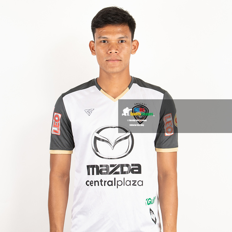 THAILAND - JUNE 25: Chainarong Bookerd #1 of Nakhonratchasrima Mazda FC on June 25, 2019.<br /> .<br /> .<br /> .<br /> (Photo by: Naratip Golf Srisupab/SEALs Sports Images/MB Media Solutions)