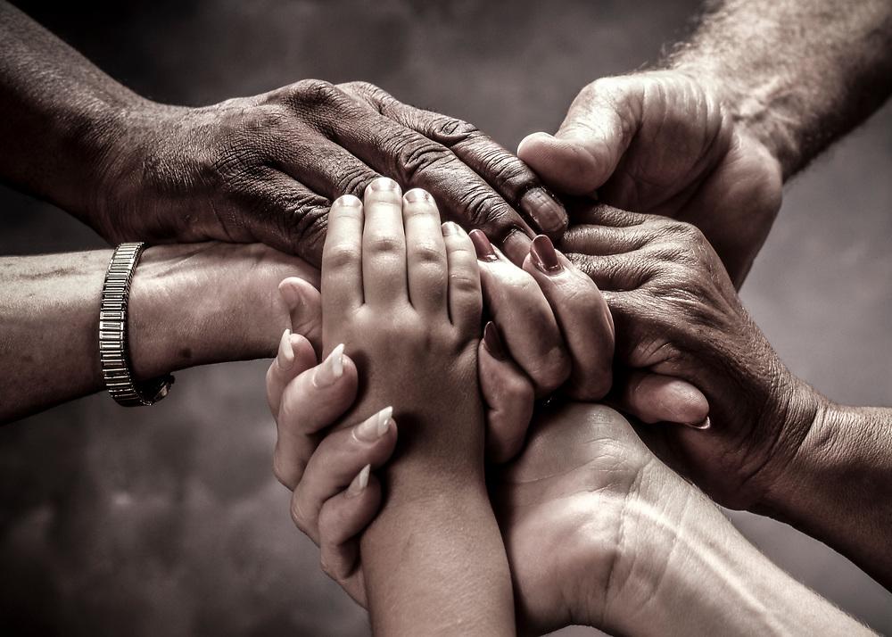 Multi Generational Hands