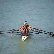 BLW2x (b) Zoe MCBRIDE (s) Jackie KIDDLE <br /> <br /> Racing the U23 World Champs on the regatta course Plovdiv Bulgaria. Wednesday 22 to Sunday 26 October 2015.  Copyright photo © Steve McArthur / @rowingcelebration www.rowingcelebration.com