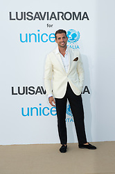 Tommaso Chiabra arriving at a photocall for the Unicef Summer Gala Presented by Luisaviaroma at Villa Violina on August 10, 2018 in Porto Cervo, Italy. Photo by Alessandro Tocco/ABACAPRESS.COM