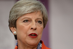 "File photo dated 09/06/17 of Prime Minister Theresa May, who has said that the three million EU citizens living in the UK should take ""reassurance and confidence"" from proposals for their post-Brexit status unveiled by the UK Government."