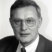 NLD/Huizen/19911114 - Raadslid Jan Rebel CDA fractie Huizen