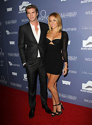 Liam Hemsworth and Miley Cyrus attending '2012 Australians in Film Awards & Benefit Dinner' held at the Inter Continental Hotel, Century City, Los Angeles, CA, USA on June 27, 2012. Photo by Gimini/ABACAUSA.COM