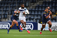 Rugby Union - 2019 / 2020 Gallagher Premiership - Worcester Warriors vs Bristol Bears<br /> <br /> Bristol Bears' Semi Radradra evades the tackle of Worcester Warriors' Francois Venter, at Sixways.<br /> <br /> COLORSPORT/ASHLEY WESTERN