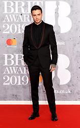 February 21, 2019 - London, London, United Kingdom - Image licensed to i-Images Picture Agency. 20/02/2019. London, United Kingdom. Liam Payne  at the Brit Awards in London. (Credit Image: © i-Images via ZUMA Press)