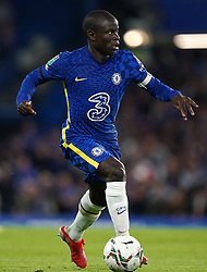 File photo dated 22-09-2021 of Chelsea's N'Golo Kante. N'Golo Kante and Reece James are back to fitness and in contention for Chelsea's Premier League trip to Brentford on Saturday. Issue date: Tuesday October 12, 2021.