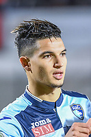 Zinedine Ferhat of Le Havre during the Ligue 2 match between Quevilly Rouen and Le Havre on October 27, 2017 in Rouen, France. (Photo by Anthony Dibon/Icon Sport)